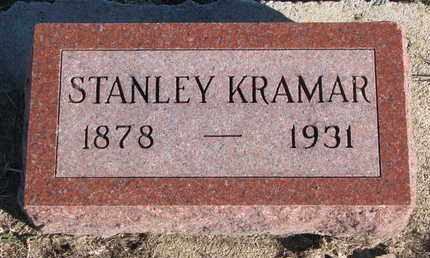 KRAMAR, STANLEY - Bon Homme County, South Dakota | STANLEY KRAMAR - South Dakota Gravestone Photos
