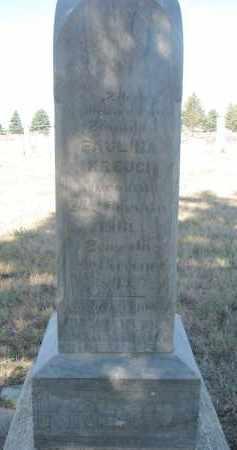 KREJCI, PAULINA - Bon Homme County, South Dakota   PAULINA KREJCI - South Dakota Gravestone Photos