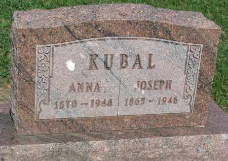 KUBAL, ANNA - Bon Homme County, South Dakota   ANNA KUBAL - South Dakota Gravestone Photos