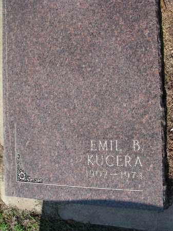 KUCERA, EMIL B. - Bon Homme County, South Dakota | EMIL B. KUCERA - South Dakota Gravestone Photos