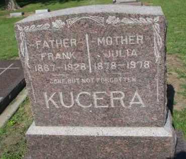 KUCERA, JULIA - Bon Homme County, South Dakota   JULIA KUCERA - South Dakota Gravestone Photos