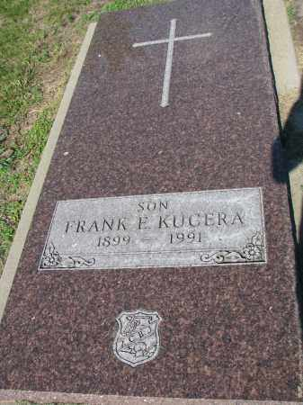KUCERA, FRANK E. - Bon Homme County, South Dakota   FRANK E. KUCERA - South Dakota Gravestone Photos