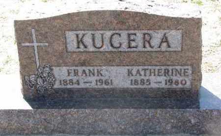KUCERA, FRANK - Bon Homme County, South Dakota | FRANK KUCERA - South Dakota Gravestone Photos
