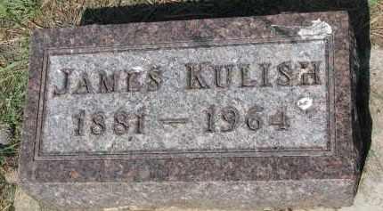 KULISH, JAMES - Bon Homme County, South Dakota | JAMES KULISH - South Dakota Gravestone Photos