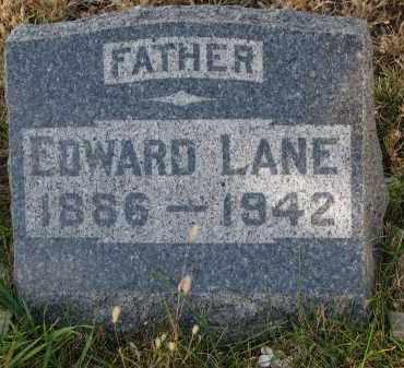 LANE, EDWARD - Bon Homme County, South Dakota   EDWARD LANE - South Dakota Gravestone Photos