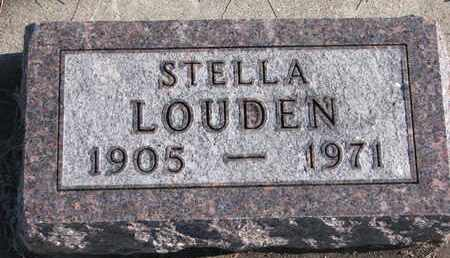 LOUDEN, STELLA - Bon Homme County, South Dakota | STELLA LOUDEN - South Dakota Gravestone Photos