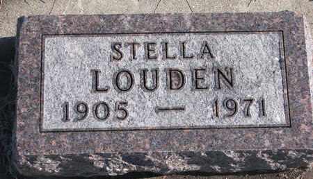 LOUDEN, STELLA - Bon Homme County, South Dakota   STELLA LOUDEN - South Dakota Gravestone Photos