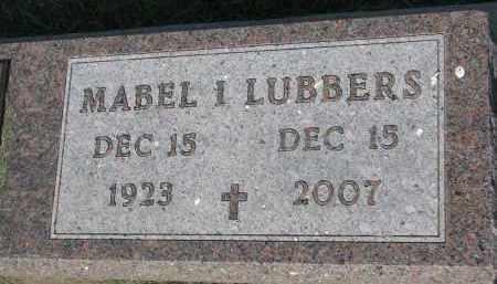 LUBBERS, MABEL I. - Bon Homme County, South Dakota | MABEL I. LUBBERS - South Dakota Gravestone Photos