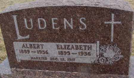 LUDENS, ALBERT - Bon Homme County, South Dakota | ALBERT LUDENS - South Dakota Gravestone Photos