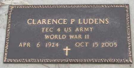 LUDENS, CLARENCE P. (WW II) - Bon Homme County, South Dakota | CLARENCE P. (WW II) LUDENS - South Dakota Gravestone Photos