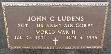LUDENS, JOHN C. (WW II) - Bon Homme County, South Dakota | JOHN C. (WW II) LUDENS - South Dakota Gravestone Photos
