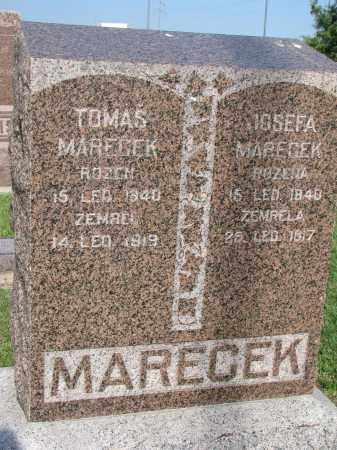 MARECEK, TOMAS - Bon Homme County, South Dakota | TOMAS MARECEK - South Dakota Gravestone Photos