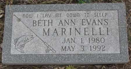 MARINELLI, BETH ANN - Bon Homme County, South Dakota | BETH ANN MARINELLI - South Dakota Gravestone Photos