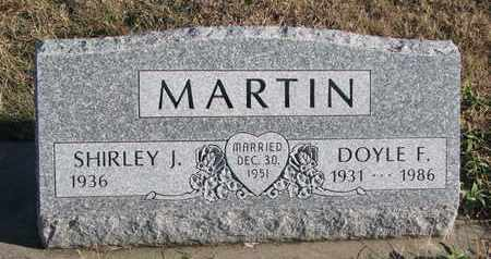 MARTIN, DOYLE F. - Bon Homme County, South Dakota | DOYLE F. MARTIN - South Dakota Gravestone Photos