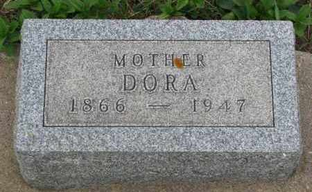 MATTIS, DORA - Bon Homme County, South Dakota | DORA MATTIS - South Dakota Gravestone Photos