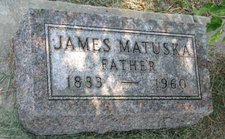 MATUSKA, JAMES - Bon Homme County, South Dakota | JAMES MATUSKA - South Dakota Gravestone Photos