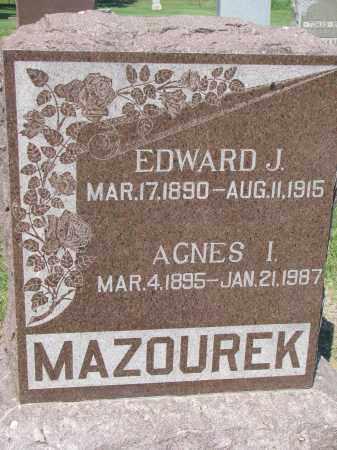 MAZOUREK, EDWARD J. - Bon Homme County, South Dakota | EDWARD J. MAZOUREK - South Dakota Gravestone Photos