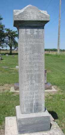 MAZOUREK, JOSEF - Bon Homme County, South Dakota | JOSEF MAZOUREK - South Dakota Gravestone Photos