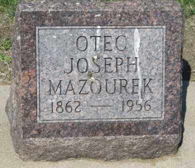 MAZOUREK, JOSEPH - Bon Homme County, South Dakota | JOSEPH MAZOUREK - South Dakota Gravestone Photos