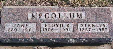MCCOLLUM, JANE - Bon Homme County, South Dakota   JANE MCCOLLUM - South Dakota Gravestone Photos