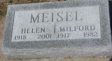 MEISEL, MILFORD - Bon Homme County, South Dakota   MILFORD MEISEL - South Dakota Gravestone Photos