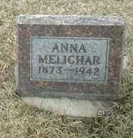 MELICHAR, ANNA - Bon Homme County, South Dakota | ANNA MELICHAR - South Dakota Gravestone Photos