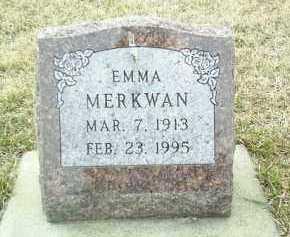 MERKWAN, EMMA - Bon Homme County, South Dakota | EMMA MERKWAN - South Dakota Gravestone Photos