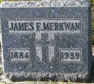 MERKWAN, JAMES F. - Bon Homme County, South Dakota | JAMES F. MERKWAN - South Dakota Gravestone Photos