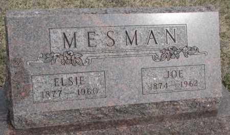 MESMAN, JOE - Bon Homme County, South Dakota | JOE MESMAN - South Dakota Gravestone Photos