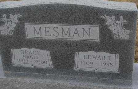 MESMAN, GRACE - Bon Homme County, South Dakota | GRACE MESMAN - South Dakota Gravestone Photos