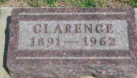 METCALF, CLARENCE - Bon Homme County, South Dakota   CLARENCE METCALF - South Dakota Gravestone Photos