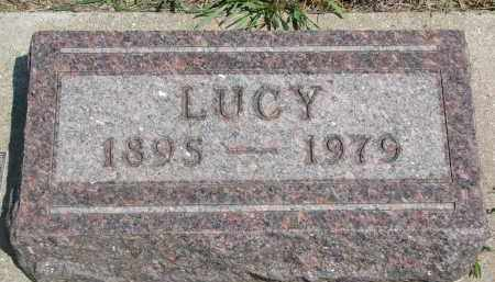 METCALF, LUCY - Bon Homme County, South Dakota | LUCY METCALF - South Dakota Gravestone Photos