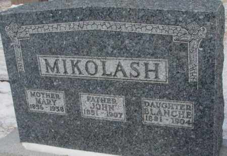 MIKOLASH, BLANCHE - Bon Homme County, South Dakota | BLANCHE MIKOLASH - South Dakota Gravestone Photos