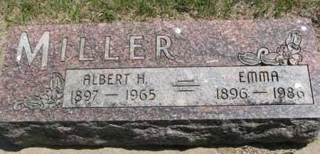 MILLER, EMMA - Bon Homme County, South Dakota | EMMA MILLER - South Dakota Gravestone Photos
