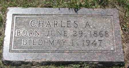 MILLER, CHARLES A. - Bon Homme County, South Dakota | CHARLES A. MILLER - South Dakota Gravestone Photos