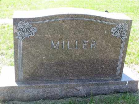 MILLER, FAMILY STONE - Bon Homme County, South Dakota | FAMILY STONE MILLER - South Dakota Gravestone Photos