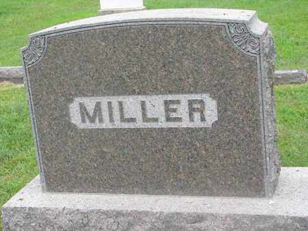 MILLER, FAMILY MONUMENT - Bon Homme County, South Dakota | FAMILY MONUMENT MILLER - South Dakota Gravestone Photos