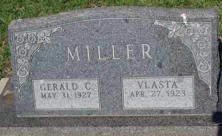MILLER, VLASTA - Bon Homme County, South Dakota | VLASTA MILLER - South Dakota Gravestone Photos