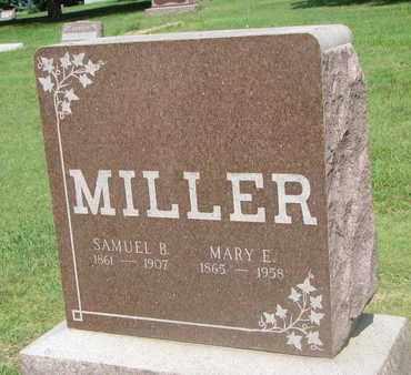 MILLER, SAMUEL B. - Bon Homme County, South Dakota | SAMUEL B. MILLER - South Dakota Gravestone Photos