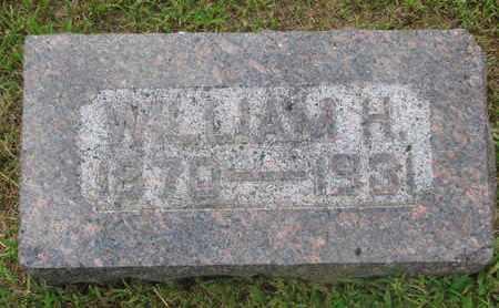 MILLER, WILLIAM H. - Bon Homme County, South Dakota | WILLIAM H. MILLER - South Dakota Gravestone Photos