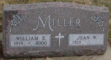 MILLER, JEAN W. - Bon Homme County, South Dakota | JEAN W. MILLER - South Dakota Gravestone Photos
