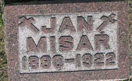 MISAR, JAN - Bon Homme County, South Dakota | JAN MISAR - South Dakota Gravestone Photos