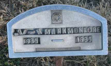 MONFORE, ....MARK - Bon Homme County, South Dakota | ....MARK MONFORE - South Dakota Gravestone Photos