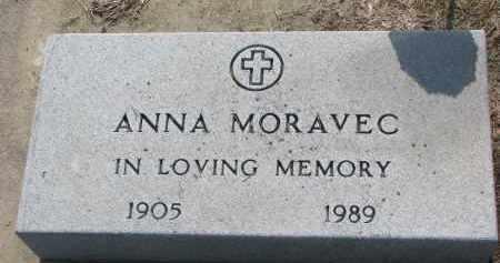 MORAVEC, ANNA - Bon Homme County, South Dakota   ANNA MORAVEC - South Dakota Gravestone Photos