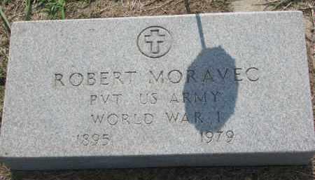 MORAVEC, ROBERT (WW I) - Bon Homme County, South Dakota | ROBERT (WW I) MORAVEC - South Dakota Gravestone Photos