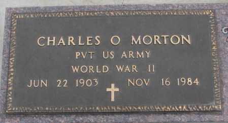 MORTON, CHARLES O. (WW II) - Bon Homme County, South Dakota | CHARLES O. (WW II) MORTON - South Dakota Gravestone Photos
