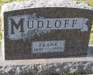 MUDLOFF, FRANK - Bon Homme County, South Dakota   FRANK MUDLOFF - South Dakota Gravestone Photos