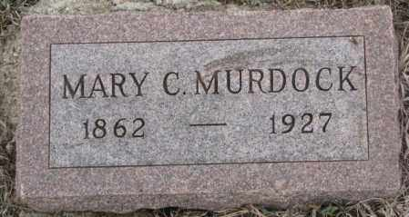 MURDOCK, MARY C. - Bon Homme County, South Dakota | MARY C. MURDOCK - South Dakota Gravestone Photos