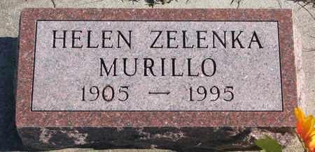 ZELENKA MURILLO, HELEN - Bon Homme County, South Dakota | HELEN ZELENKA MURILLO - South Dakota Gravestone Photos