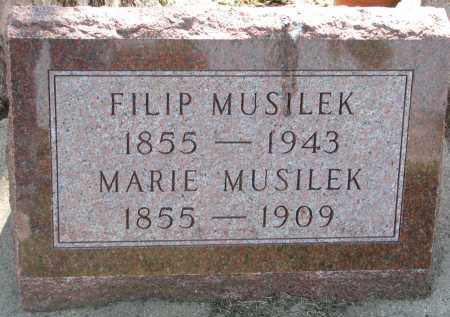 MUSILEK, MARIE - Bon Homme County, South Dakota | MARIE MUSILEK - South Dakota Gravestone Photos